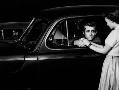 Fotograma de 'Rebelde sin causa' de 1955.