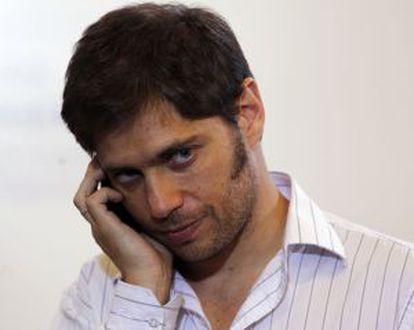 El ministro argentino de Economía, Axel Kicillof