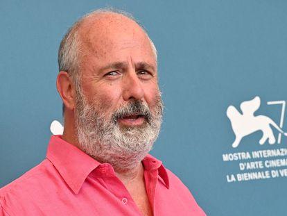 Roger Michell, el 4 de septiembre de 2020, en el festival de Venecia.