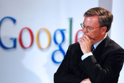 Eric Schmitd, consejero delegado de Google.