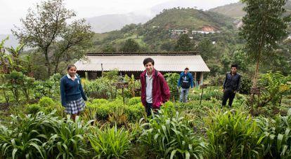 Jóvenes estudiantes de El Cauca, Colombia.