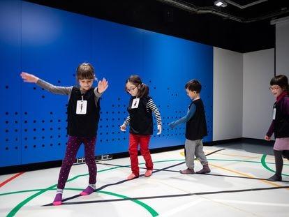 En la imagen, un taller infantil en CaixaForum Barcelona.