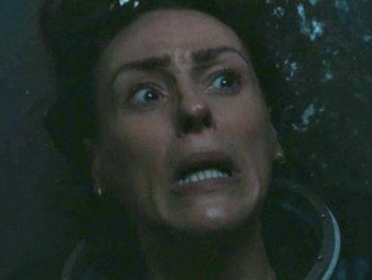 La detective Amy Silva (Suranne Jones), en un momento especialmente angustioso del último capítulo.