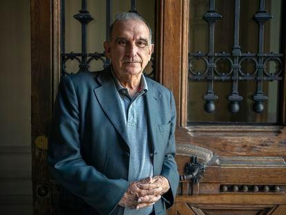 Humberto de la Calle posa en Madrid este lunes. ANDREA COMAS