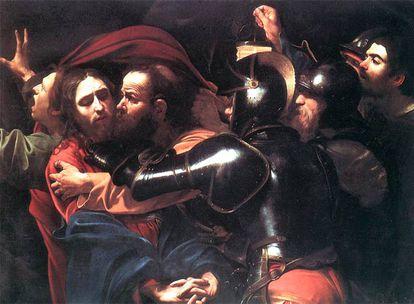 'El prendimiento de Cristo', de Caravaggio.