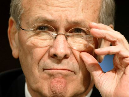 Donald Rumsfeld, en una fotografía de 2003.