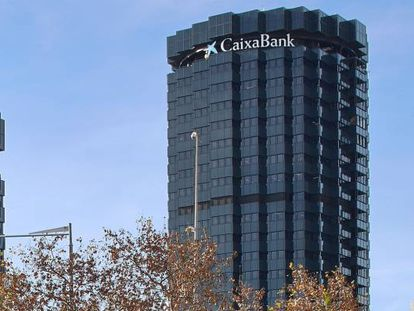 Sede de CaixaBank, en Barcelona.