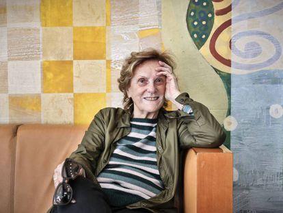La realizadora Lilliana Cavani, en el hotel Meliá de la plaza del Ayuntamiento de Valencia.
