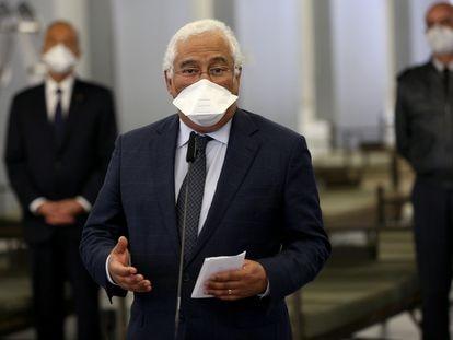 El primer ministro de Portugal, António Costa, durante un acto este martes.