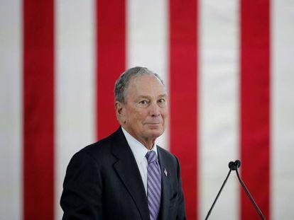 El candidato Michael Bloomberg.