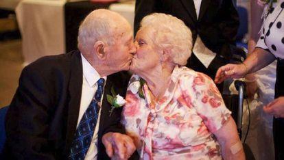 Frank y Joyce Dodd en 2012.