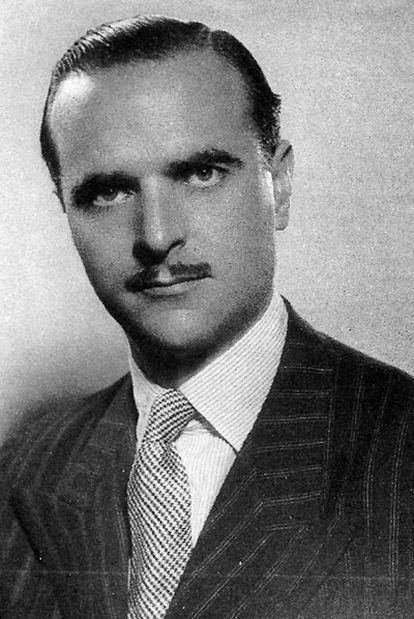 Ángel Sanz Briz (1910-1980), en la época que estuvo en Budapest.