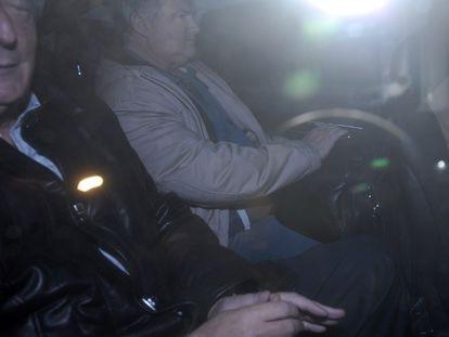 Daniel Muñoz  y Néstor Kirchner, en una imagen de archivo.