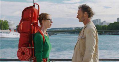Fiona Gordon y Dominique Abel, en 'Perdidos en París'.