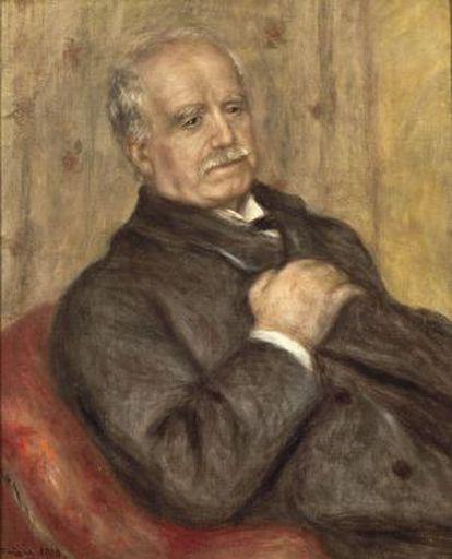 Paul Durand-Ruel, retratado por Renoir en un óleo de 1910.