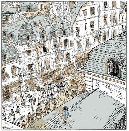 Viñeta de 'Revolución' de Florent Grouazel y Younn Locard.