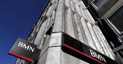 Sede del banco BMN en la calle Cedaceros de Madrid.