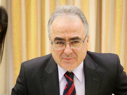 Ángel Yuste, secretario general de Instituciones Penitenciarias, en una comparecencia en el Congreso.