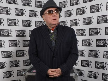 Van Morrison fotografiado en 2015 en Londres, Reino Unido.