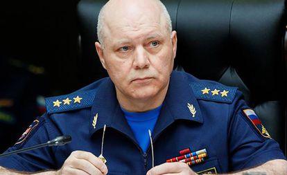 Igor Korobov, director de la inteligencia militar rusa, en 2017.