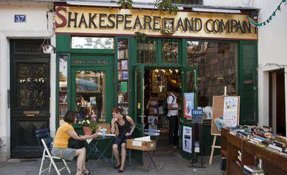 La librería Shakespeare and Company en 2020.