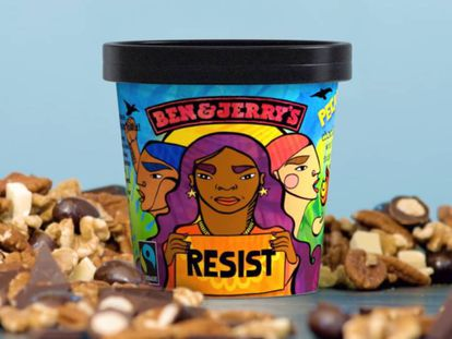 El helado Pecan Resist, una edición limitada de Ben & Jerry's.
