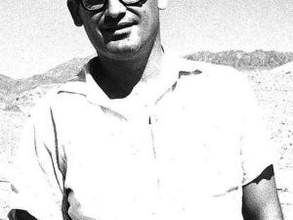 Avraham Yaski, arquitecto israelí, en 1963.
