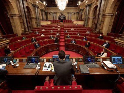 Pleno del Parlament del 21 de mayo.