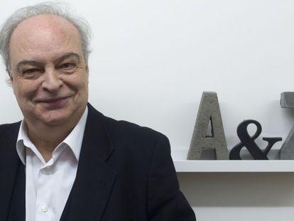 Enrique Vila-Matas, el pasado lunes en Barcelona.