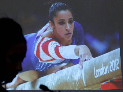 Imagen de Aly Raisman, durante el juicio contra el doctor Larry Nassar, acusado de haber abusado sexualmente de las componentes del equipo estadounidense de gimnasia artística. / Suzanne Kreitter (GETTY)