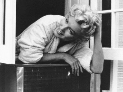 La actriz Marilyn Monroe.
