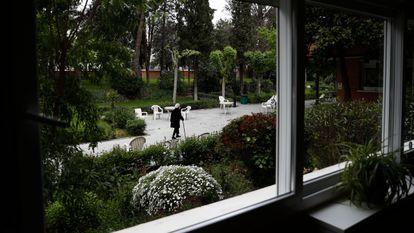 Residencia de ancianos Las Praderas en Pozuelo de Alarcón (Madrid), durante la pandemia del coronavirus.