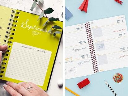 Agendas escolares con diseños originales, resistentes y prácticas.