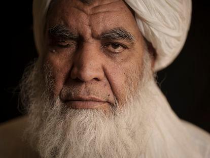 El líder taliban Nooruddin Turabi.