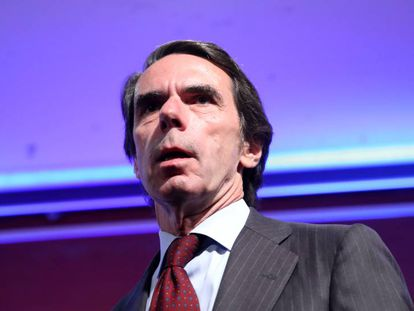 José María Aznar en una imagen de archivo.