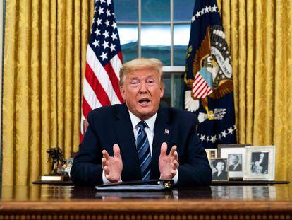 Donald Trump insiste en que el coronavirus pasará.