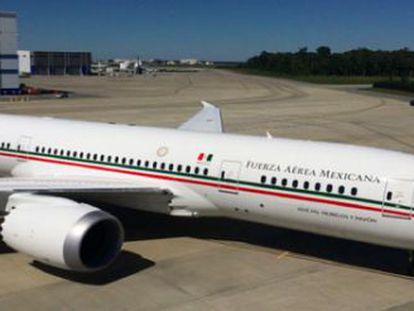 El nuevo avión presidencial José María Morelos y Pavón.
