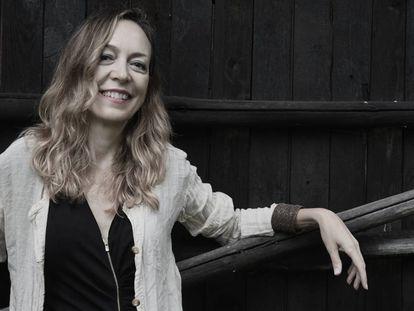La escritora Marta del Riego.
