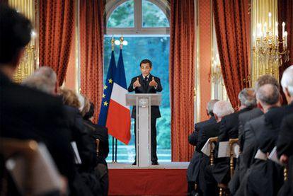 Sarkozy durante la la Conferencia anual de Embajadores franceses ha criticado el pago de rescates por secuestrados de Al Qaeda