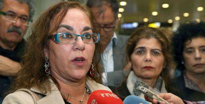 La abogada canaria María Nieves Cubas Armas, expulsada de Marruecos.