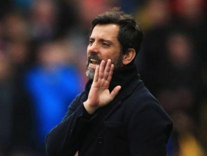 El entrenador del Espanyol, Quique Sánchez Flores, en una imagen de archivo.