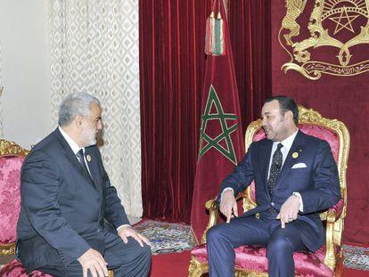 El rey Mohamed VI de Marruecos nombró hoy al secretario general del Partido Justicia y Desarrollo (PJD), Abdelilah Benkirán. EFE/Archivo