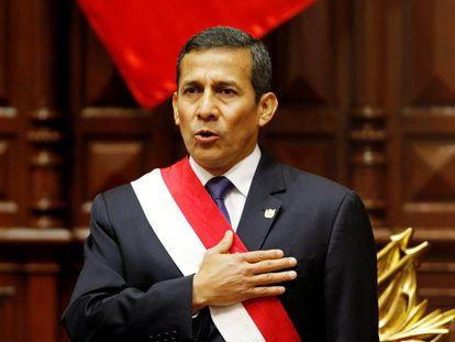 El expresidente peruano Ollanta Humala, en julio de 2013.