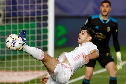 Asensio, contra Osasuna.