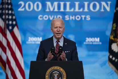 El presidente Joe Biden, el 21 de abril en la Casa Blanca.