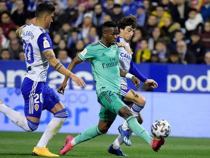 Vinicius marca el tercer gol. En vídeo, declaraciones de Zidane tras el partido.