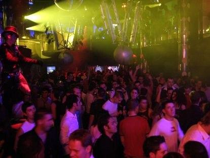 Ambiente en una discoteca de Madrid.