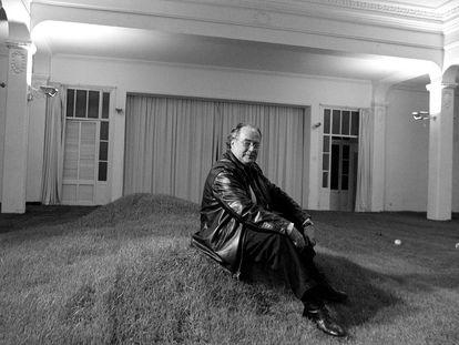 Rafael Tous, propietario de Galeria Metrónom en una imagen del año 2000.