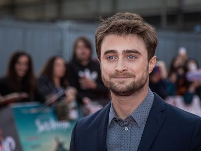 El actor Daniel Radcliffe en un estreno en Londres en 2016.