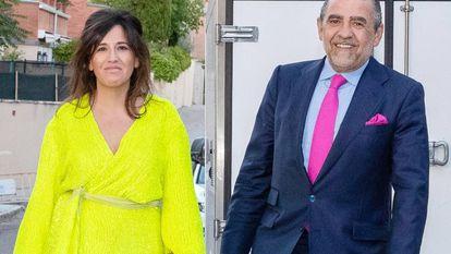 Jaime Martínez-Bordiú y Marta Fernandez, en junio de 2019 en Madrid.